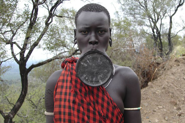 Woman of the Murzi Tribe