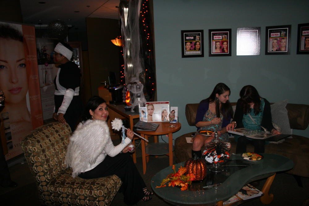 Boo-tox Party Guests at WellMeidca
