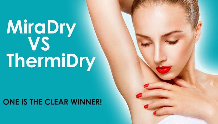 miradry resotn vs thermidry reston excessive sweating washington dc