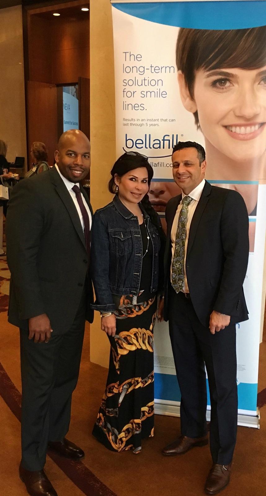 Suneva Summit for Success 2017 dr. dima and bellafill