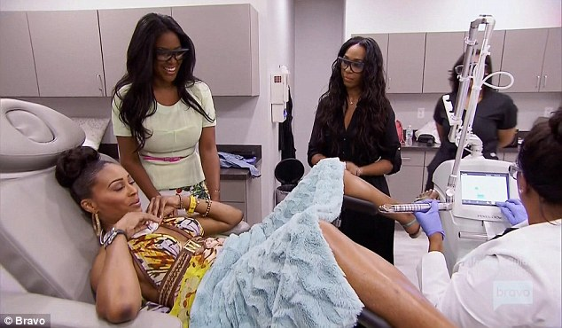 cynthia bailey realhousewives vaginal rejuvenation kenya moore vaginal rejuvenation reston va