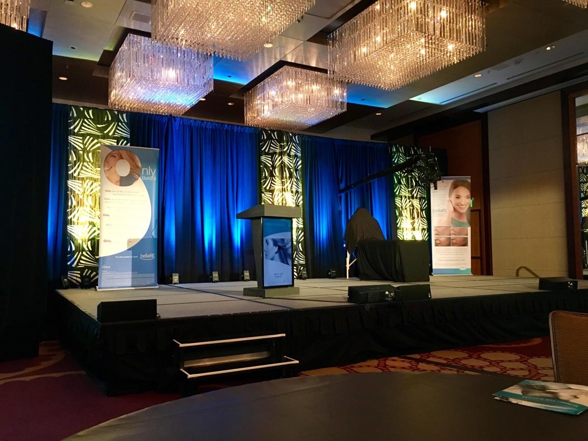 Suneva Summit for Success 2017 stage wellmedica dr. dima