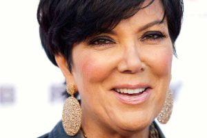 Kris Jenner Ear Lobes Wearing Heavy Jewelry